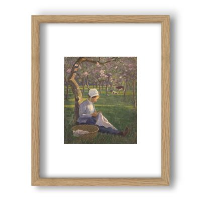 In the Orchard - Curator`s Choice framed print