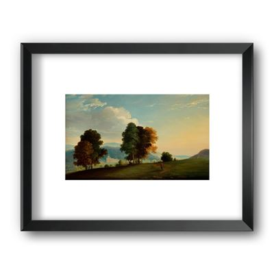 Ilam Hall - framed print