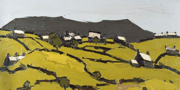 Welsh landscapes by Kyffin Williams
