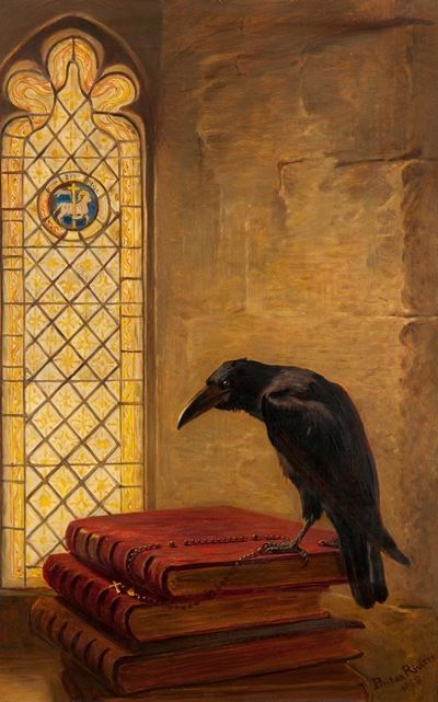 A Saint, from the 'Jackdaw of Rheims'